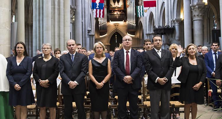 Le Conseil d'Etat vaudois et les députés ont prêté serment