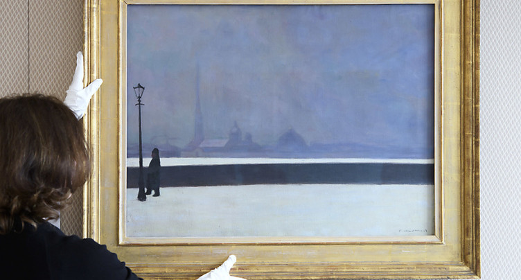 « La Néva, brume légère » de Vallotton vendu pour plus de 1,3 million