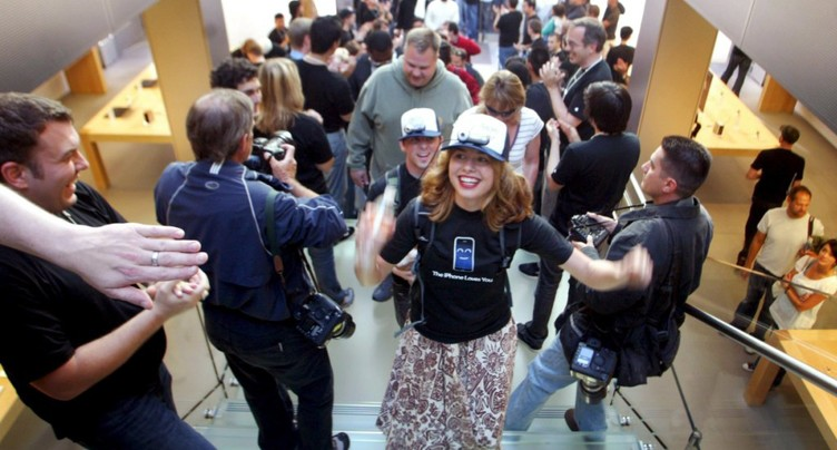 Il y a dix ans sortait le premier iPhone, le début d'une révolution