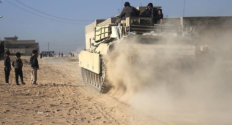 L'armée irakienne aurait repris le site de la mosquée Al Nouri à Mossoul