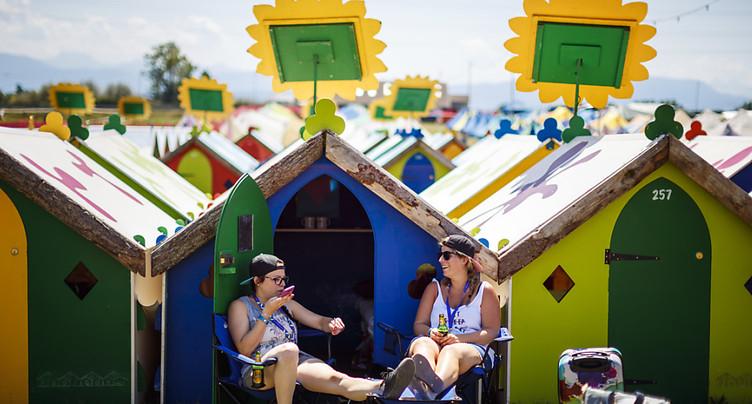 Un nouveau camping plus confortable à Paléo