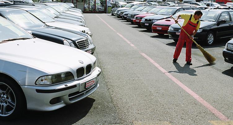 Légère hausse des ventes de voitures d'occasion au premier semestre