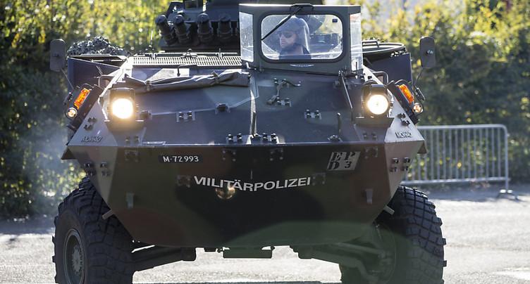 Deux militaires blessés dans une collision - bilan revu à la baisse