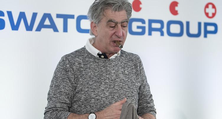 Swatch Group dégage un bénéfice net semestriel en hausse de 6,8%