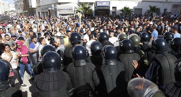 Heurts entre policiers et manifestants au nord, plusieurs blessés