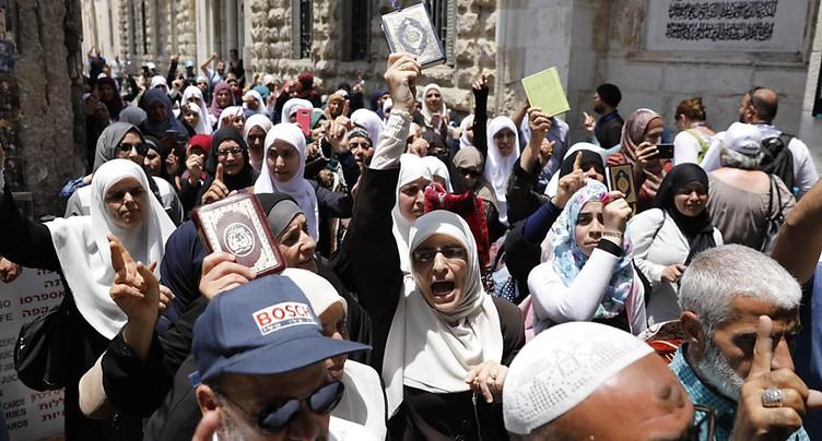 Vieille ville de Jérusalem: les moins de 50 ans interdits d'accès