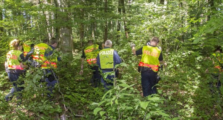 Corps carbonisé découvert dans une forêt près d'Amriswil (TG)