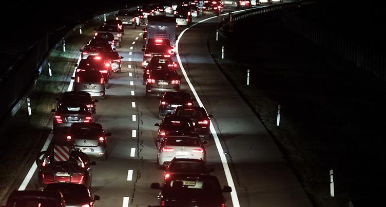 Les embouteillages n'en finissent pas au Gothard