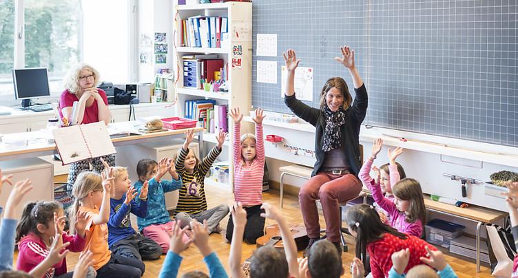 Les cantons suisses se dirigent vers un nombre d'élèves records
