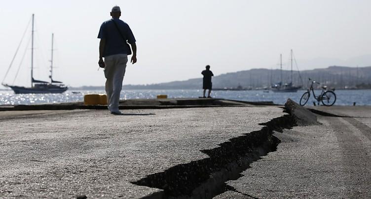L'île de Kos se remet peu à peu du séisme