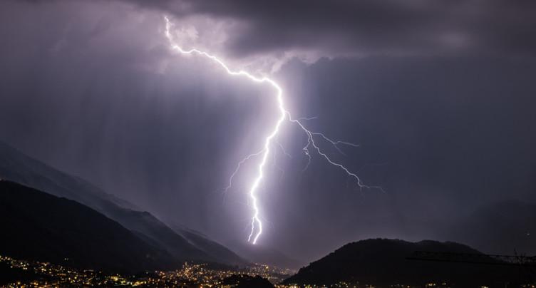 De forts orages ont balayé certaines régions de Suisse