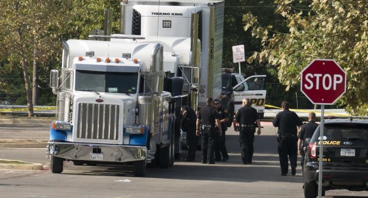 Texas: huit personnes retrouvées mortes à l'arrière d'un camion