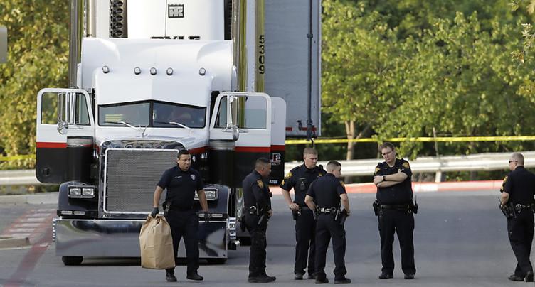 Neuf migrants morts et 30 blessés dans une remorque au Texas
