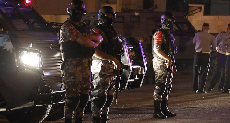 Fusillade dans l'enceinte de l'ambassade d'Israël à Amman