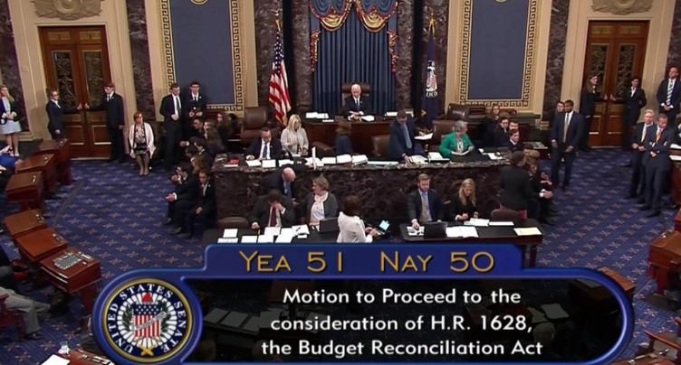 Le Sénat vote l'ouverture du débat sur l'abrogation d'Obamacare