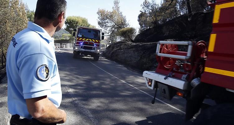 Incendie dans le sud de la France: 10'000 personnes évacuées