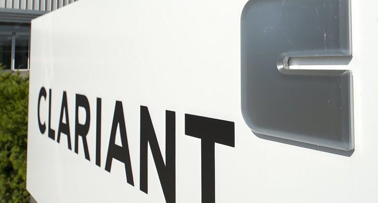 Le bénéfice net de Clariant a crû de 20% au premier semestre