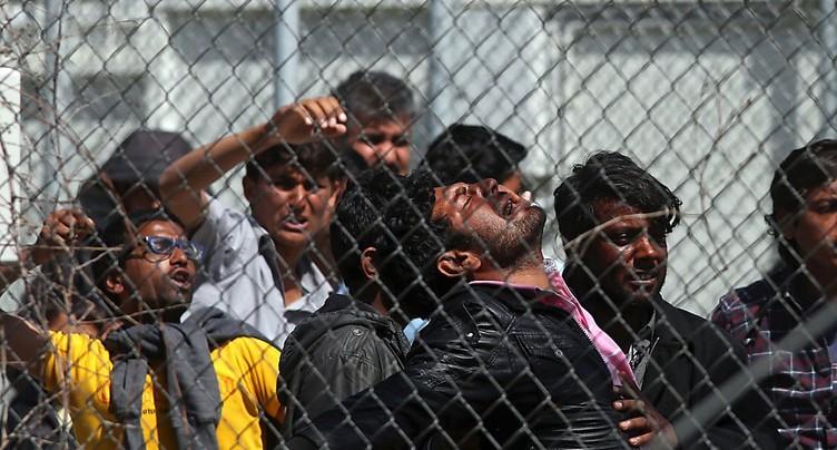 Macron souhaite la création de centres d'enregistrement en Libye