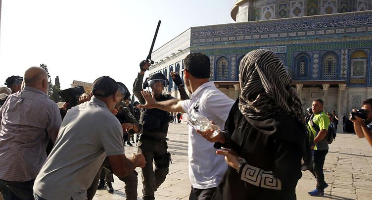 Israël interdit aux hommes de moins de 50 ans l'accès à l'esplanade