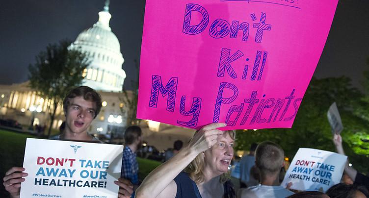 Nouvel échec de Donald Trump pour réformer l'Obamacare
