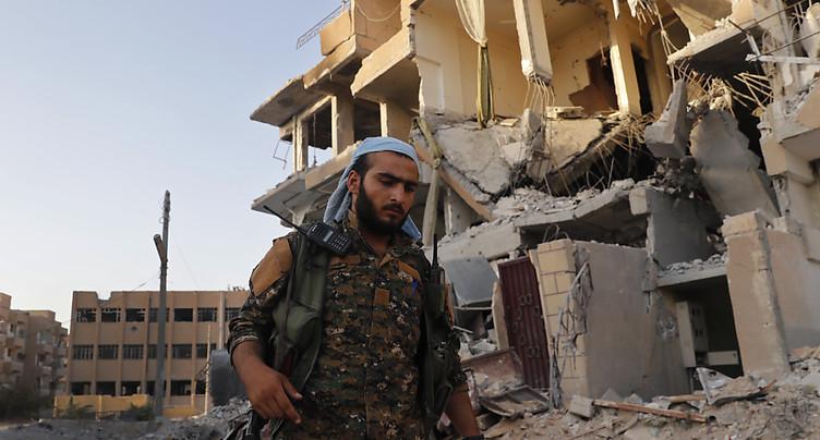L'armée syrienne aux portes du dernier fief de l'EI dans la province de Homs