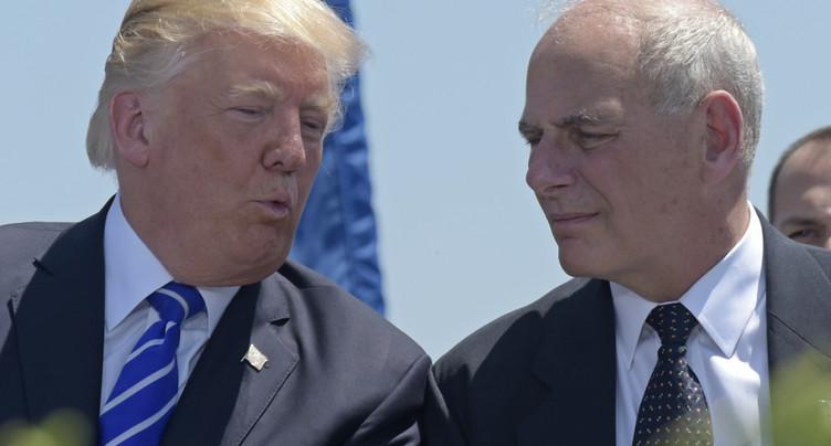 Trump limoge le secrétaire général de la Maison-Blanche