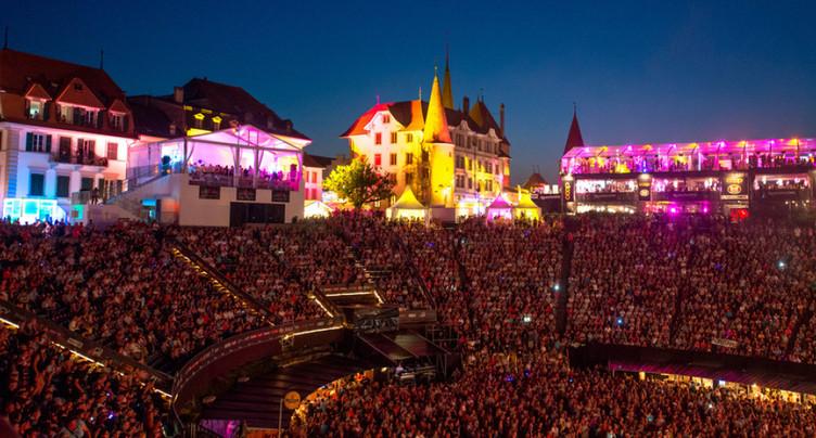 Environ 33'000 spectateurs à Avenches (VD) pour Rock Oz'Arènes