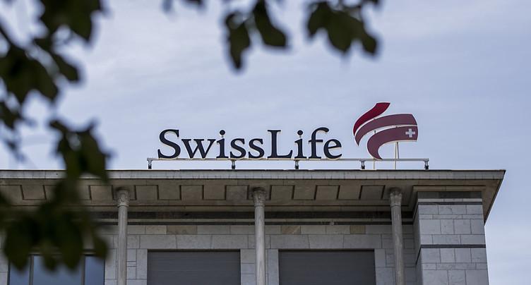 Bénéfice net en hausse de 5% pour Swiss Life au premier semestre
