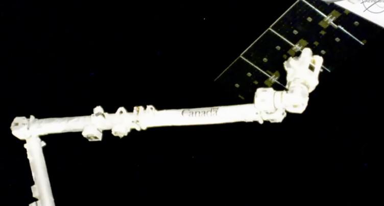 La capsule de ravitaillement Dragon est arrivée à l'ISS