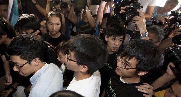 Prison pour les leaders de la « révolte des parapluies » de Hong Kong