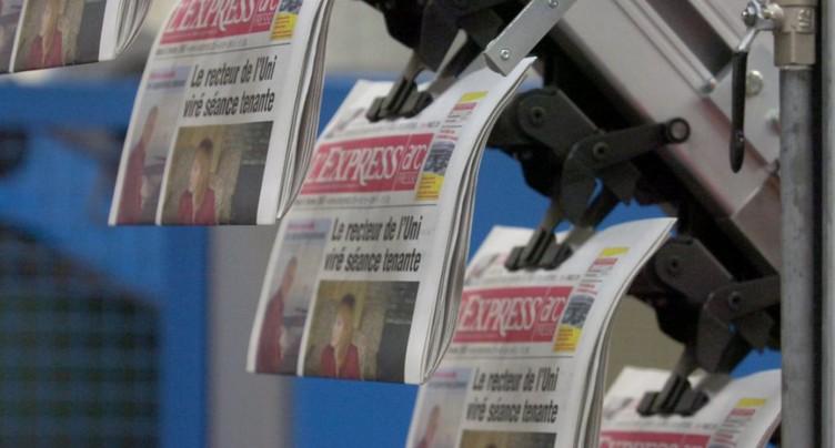 Plan de restructuration à L'Express et L'Impartial