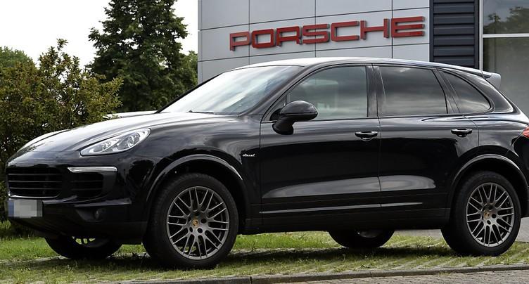 L'OFROU interdit les immatriculations des Porsche Cayenne diesel