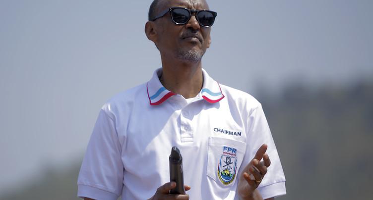 Paul Kagame investi en présence de 19 de ses pairs