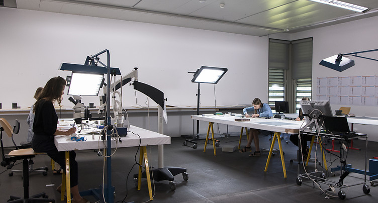 Atelier de restauration de la collection Gurlitt ouvert au public