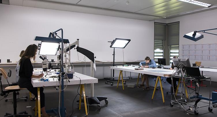 Atelier de restauration de la collection Gurlitt ouvert au public