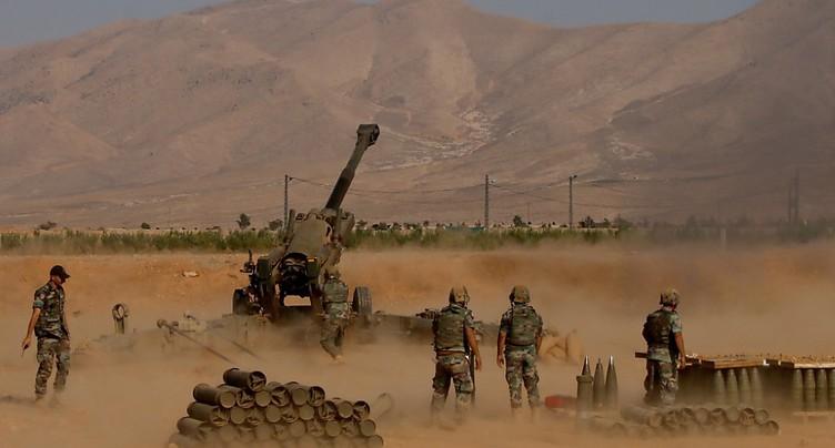 Offensive contre l'enclave de l'EI à la frontière libano-syrienne