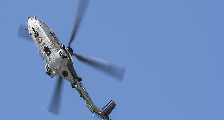 Incendies: l'armée suisse envoie trois Super Puma au Portugal