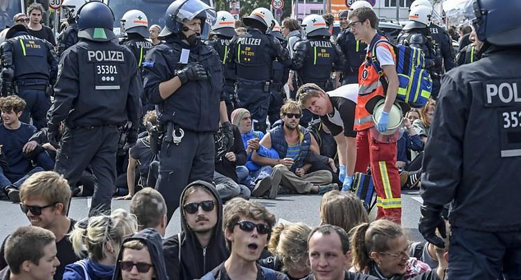 Des néo-nazis ont manifesté à Berlin en l'honneur de Rudolf Hess