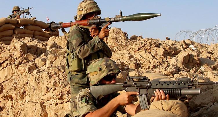 L'armée libanaise progresse face à l'EI à la frontière syrienne