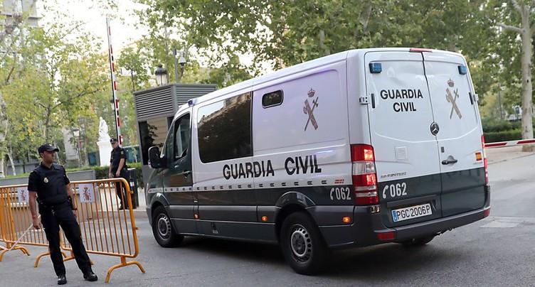 Espagne: les quatre survivants de la cellule djihadiste présentés à un juge