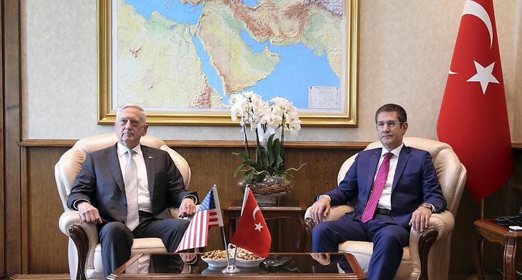Jim Mattis à Ankara pour des discussions sur la Syrie et l'Irak