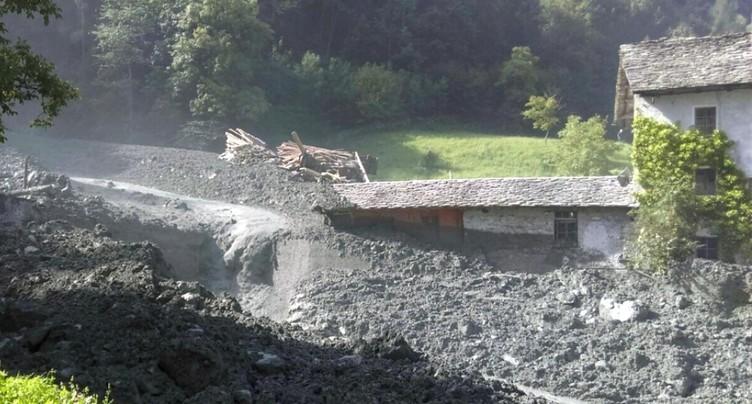 Cent personnes évacuées de Bondo (GR) après un éboulement