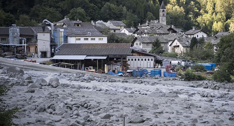 Six disparus, huit personnes hors d'atteinte dans le Val Bregaglia