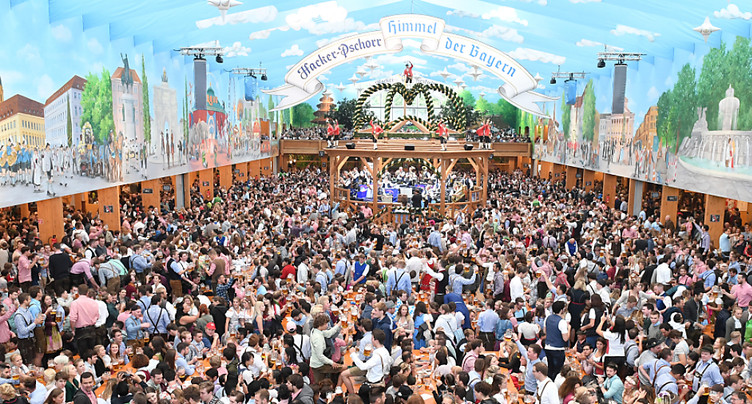 Ouverture de la traditionnelle fête de la bière à Munich