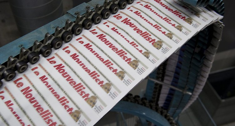 Nouveau centre d'impression à Monthey pour Rhône Media