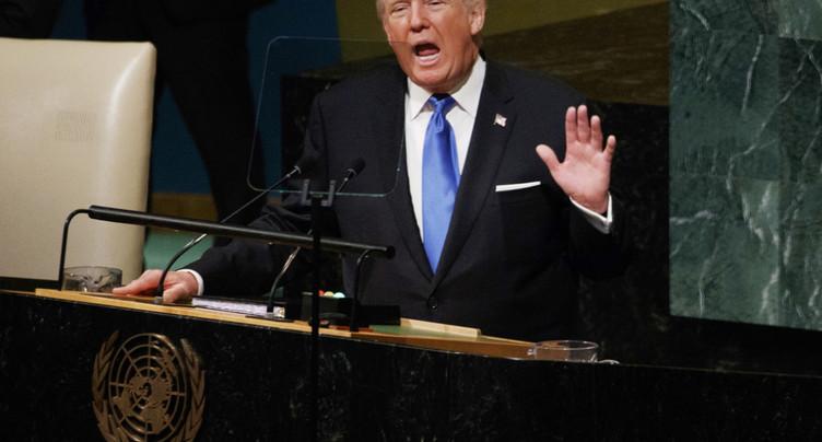 Donald Trump s'en prend à la Corée du Nord et à l'Iran