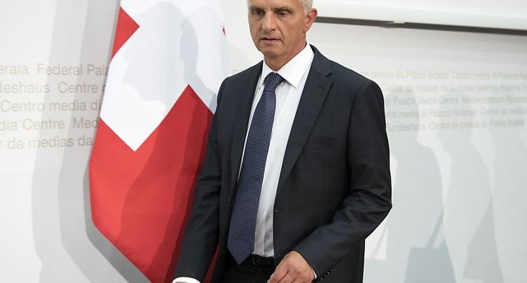 Ignazio Cassis succède à Didier Burkhalter au Conseil fédéral