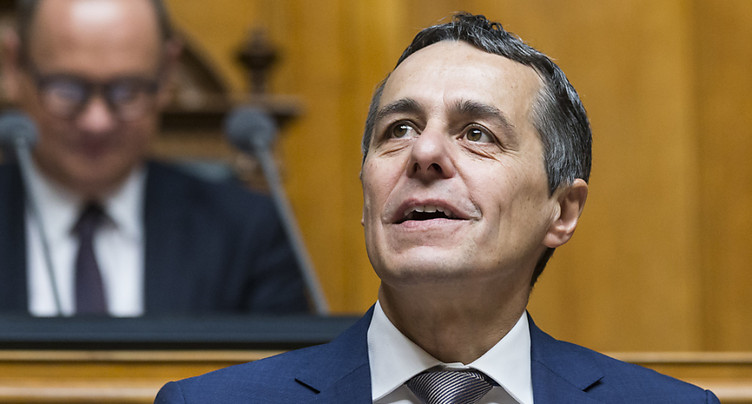 L'élection d'Ignazio Cassis fut « sans surprise ni audace »