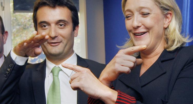 France: le vice-président du FN Florian Philippot annonce qu'il quitte le parti
