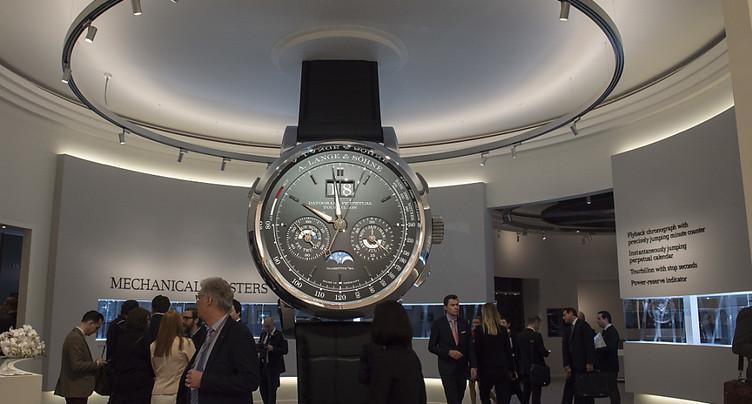 Les exportations horlogères ont poursuivi leur progression en août